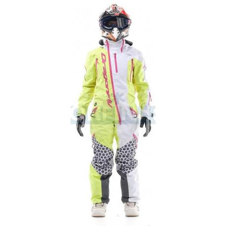 Комбинезон Dragonfly Extreme Woman Yellow-White 2020