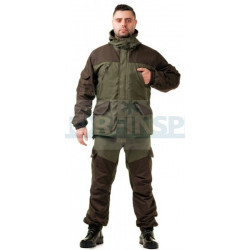 "Летний костюм Novatex ""Горка New 2017"" (канвас, темный хаки)"
