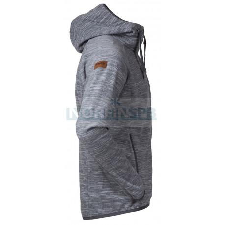 Куртка Bergans Hareid мужская флисовая, Alu Mel