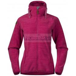 Куртка Bergans Hareid женская флисовая, Bougainvillea Mel