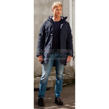 Куртка Bergans Oslo Down Parka, Dk Navy Mel