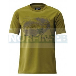 Футболка XEFO・T-Shirts SH-296N Оливковый