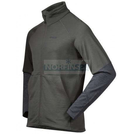 Rabot 365 Wool Jkt (GreenMud/SolidDkGrey Mel)