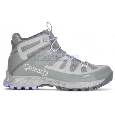 Ботинки треккинговые AKU Selvatica Mid GTX WS цв. Grey / Lilac