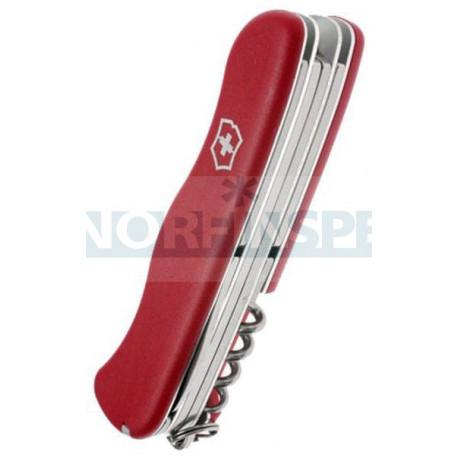Нож Victorinox Outrider (0.9023), 111мм, 14 ф., красный