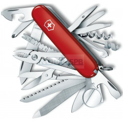 Нож Victorinox SwissChamp (1.6795), 91мм, красный