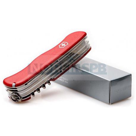 Нож Victorinox WorkChamp (0.9064), 111мм, 21 ф., красный