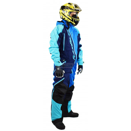 Комбинезон Dragonfly Extreme Blue-Fluo 2020