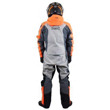 Комбинезон Dragonfly Extreme Orange-Grey 2020