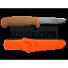 Нож Morakniv Floating Serrated Knife нерж. сталь, пробковая ручка