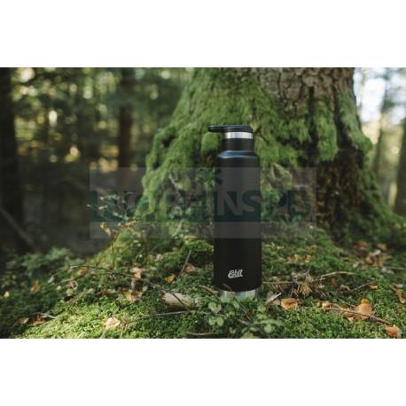 Термос Esbit PICTOR, из нержавеющей стали, черный, 0.75 л