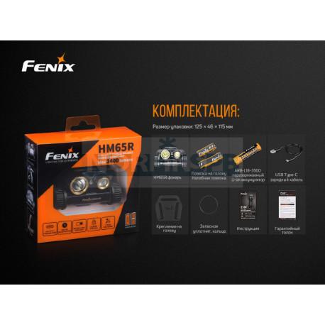 Фонарь Fenix HM65R