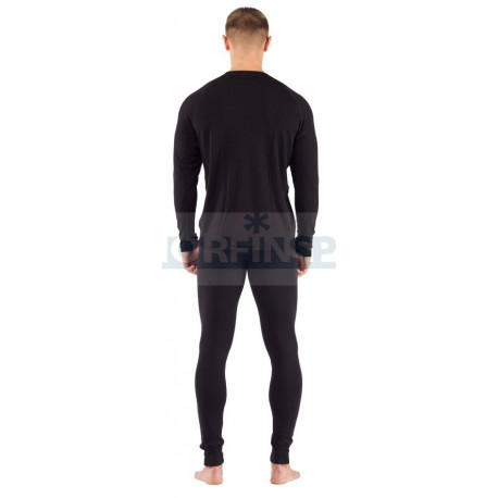 Штаны мужские Lasting REX, черные шерсть 220