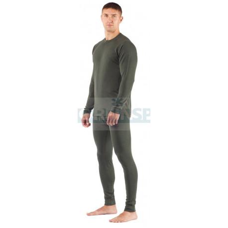 Штаны мужские Lasting REX, зеленые шерсть 220