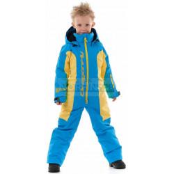 Зимний комбинезон Dragonfly DF Junior Blue - Yellow 2020