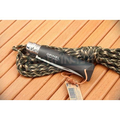 Нож Opinel №8 Trekking, нержавеющая сталь, черный