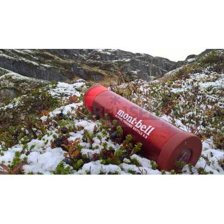 MontBell термос ALPINE THERMO BOTTLE 0.9L (380 гр, red)