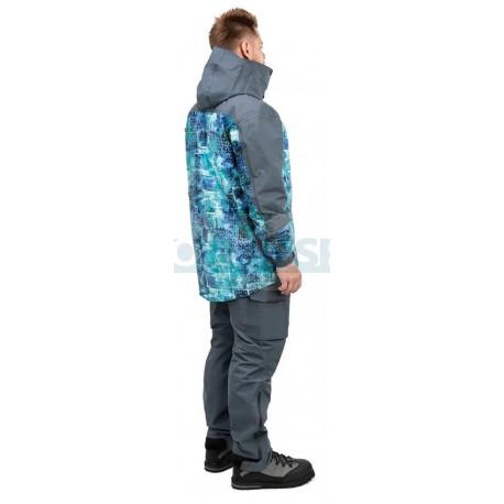 Куртка FHM Guard (Принт голубой/Серый)