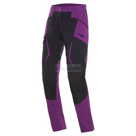 Штаны Direct Alpine TRAVEL LADY 1.0 black/violet