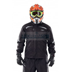 Куртка-дождевик Dragonfly EVO BLACK (мембрана)