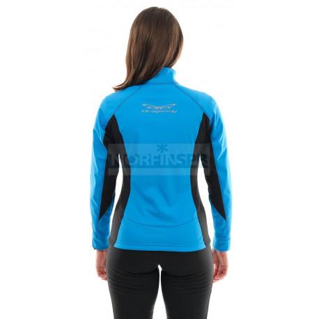 Куртка Dragonfly Explorer Blue женская, Softshell