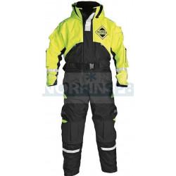 Костюм Плавающий Fladen Flotation Suit 848 Black / Yellow