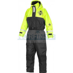 Костюм Плавающий Fladen Flotation Suit 845 Black / Yellow