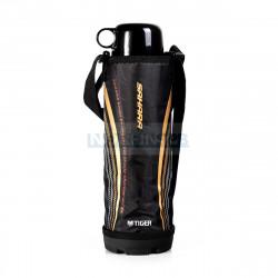 Термос спортивный Tiger MBO-E100 Black, 1 л (нержавеющая сталь, цвет крышки черный, цвет термоса стальной)