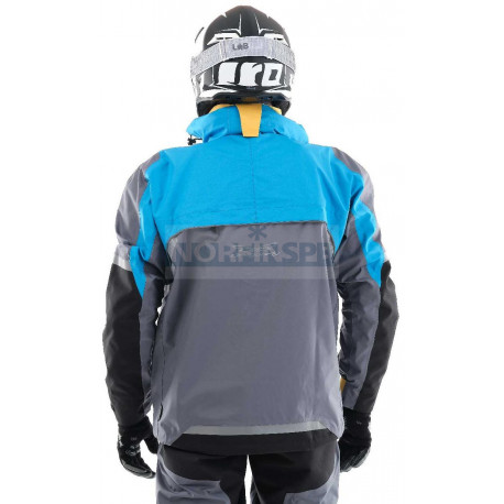 Мембранная куртка Dragonfly QUAD PRO ELECTRIC BLUE-GREY 2020