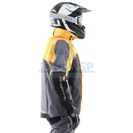 Мембранная куртка Dragonfly QUAD PRO YELLOW-GREY 2020