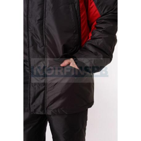 Костюм TRITON ФИШЕР -45 Поплавок (Таслан, Черный/Красный) ONERUS