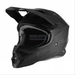 Шлем кроссовый 3Series FLAT 2.0 (O'NEAL, 0627-0) (Термопластик, мат., Черный)