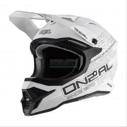 Шлем кроссовый 3Series FLAT 2.0 (O'NEAL, 0627-0) (Термопластик, мат., Белый)