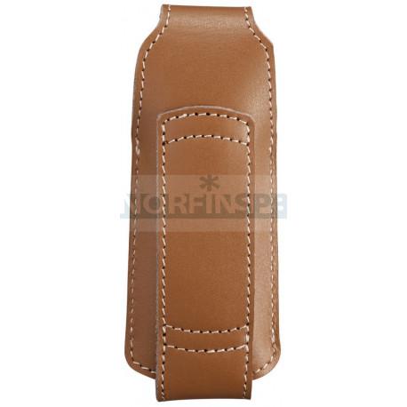 Чехол кожаный Opinel Chick коричневый