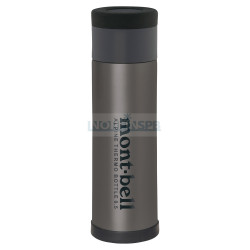 MontBell термос ALPINE THERMO BOTTLE 0.5L (265 гр., gunmetal)