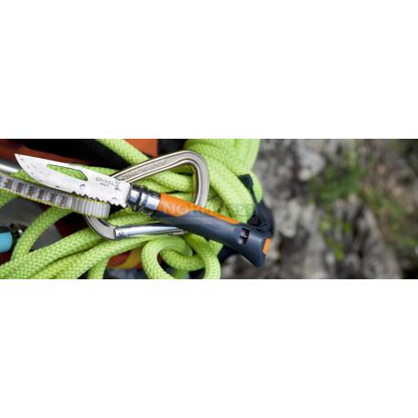 Нож Opinel №8 Outdoor Earth, оранжевый