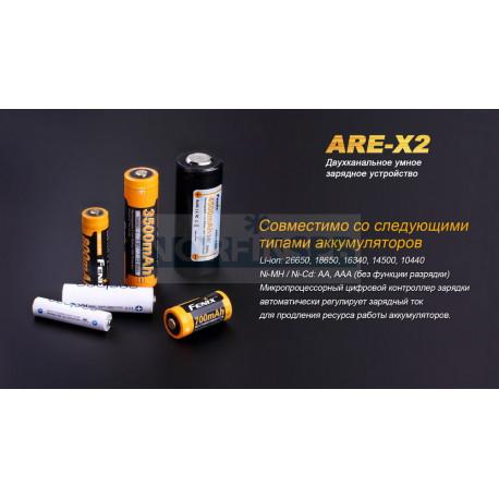Зарядное устройство Fenix ARE-X2