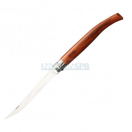Нож филейный Opinel №15, нержавеющая сталь, рукоять бубинга