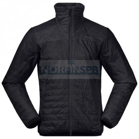 Куртка BERGANS Røros Light Ins Jkt, Black/SolidCharcoal