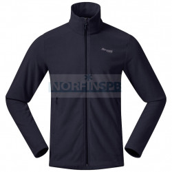 Флисовая куртка BERGANS Finnsnes Fleece Jacket, Dark Navy
