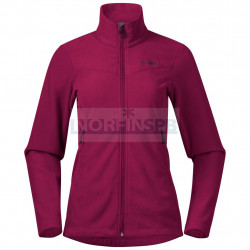 Флисовая куртка BERGANS Finnsnes Fleece W Jacket, Beet Red