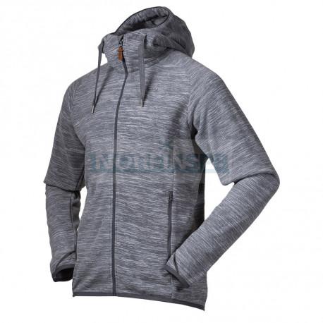 Флисовая куртка BERGANS Hareid Fleece Jacket, Aluminium Melange