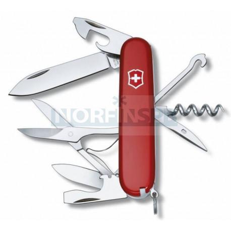 Нож Victorinox Climber, 91мм, 14 функций, красный
