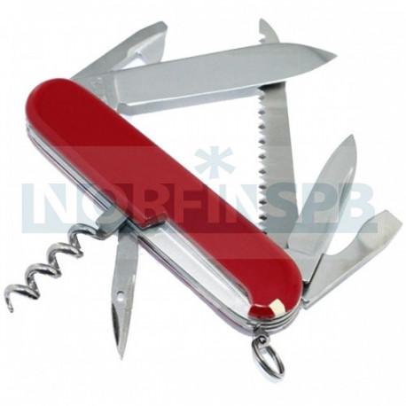 Нож Victorinox Camper, 91мм, 13 функций, красный