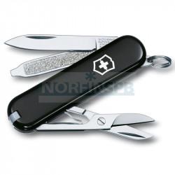 Нож Victorinox Classic, 58 мм, 7 функций, черный