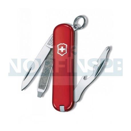 Нож Victorinox Rally, 58 мм, 9 функций, красный
