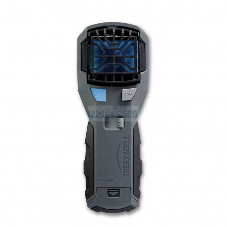 Прибор противомоскитный флагман Thermacell MR-450 Repeller (цвет серо-черный, прибор + 1 газовый картридж + 3 пластины)