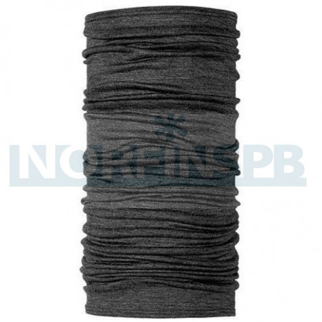 Бандана Buff Lightweight Merino Wool Solid Grey