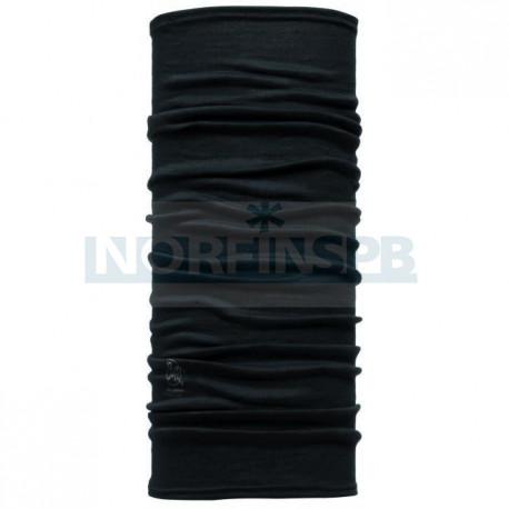 Бандана Buff Lightweight Merino Wool Solid Black