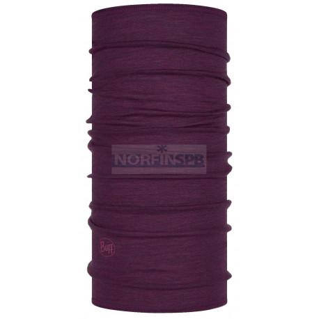 Бандана Buff Lightweight Merino Wool Purplish Multi Stripes
